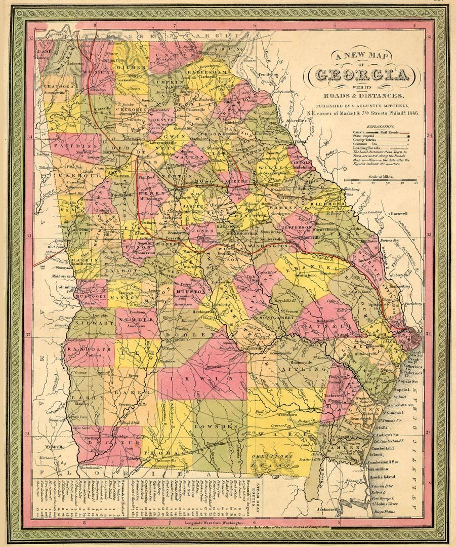 Murray County Museum HISTORICAL LOCATIONS - Map of counties in georgia